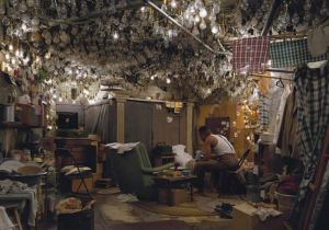 Jeff Wall, After the Invisible Man, 1999, Transparency in LIght box